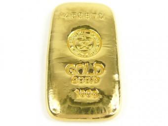 金のインゴット